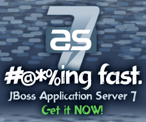 JBoss AS 7 banner
