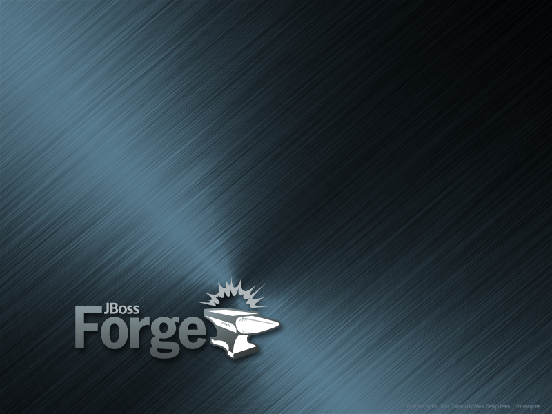 JBoss Forge Desktop Wallpaper