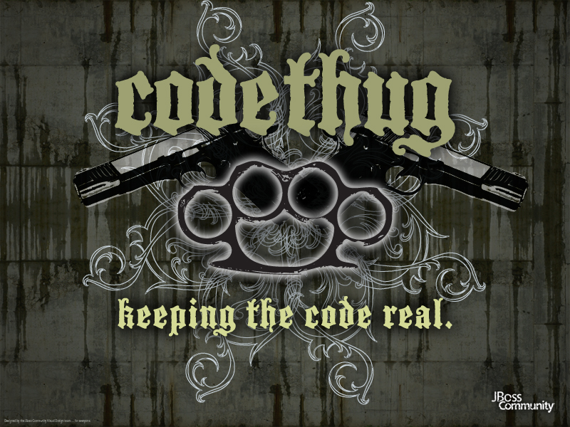 Code Thug Desktop Wallpaper