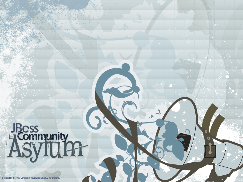 JBoss Community Asylum Wallpaper