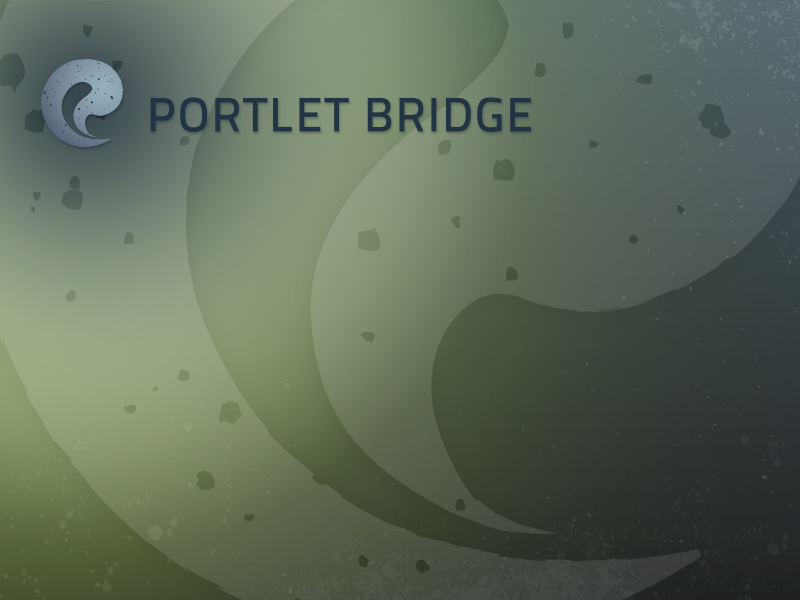 Portlet Bridge Desktop Wallpaper